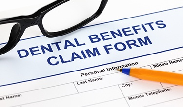 Dental benefit claims form