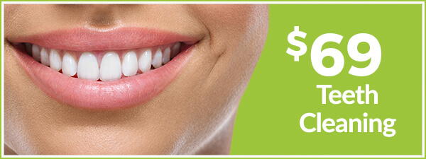 $69 teeth cleaning special