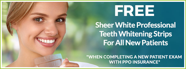 Sheer White Professional Teeth Whitening Strips Coupon