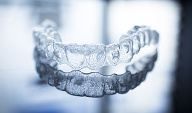 upper invisalign tray