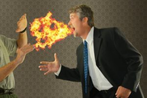 man has fire coming from mouth